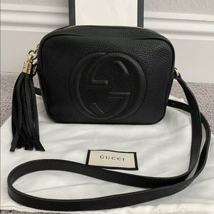 Gucci soho disco bag black leather